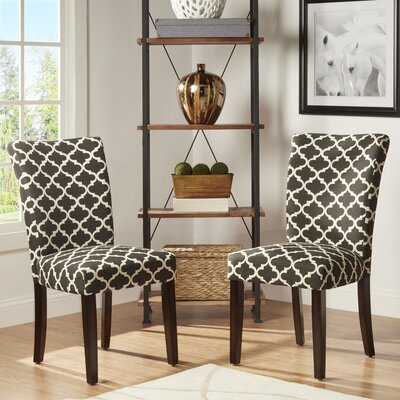 Lea Parsons Chair Upholstery: Vulcan Black