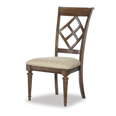 Ann Diamond Back Side Chair (Set of 2)
