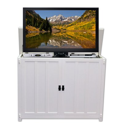 Kate 47 TV Stand Color: White