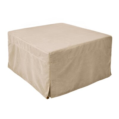 Magical Cocktail Ottoman Upholstery Material: Microfiber, Color: Beige