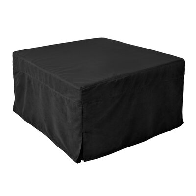 Magical Ottoman Sleeper Upholstery: Black