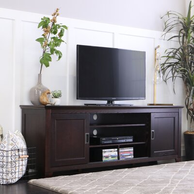 Grace 70 TV Stand Color: Espresso