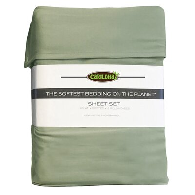 Debbie Classic Bamboo Rayon Sheet Set Size: Queen, Color: Sage