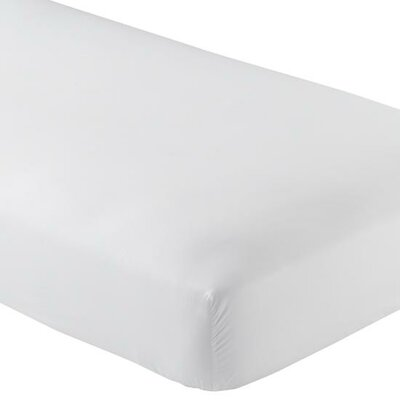 Valerie 618 Thread Count Fitted Sheet Size: Extra-Long Twin, Color: White