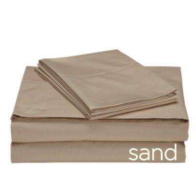 Valerie 618 Thread Count 100% Cotton Sheet Set Size: Twin XL