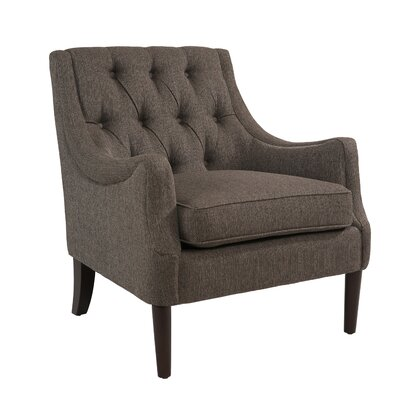 Cathy Armchair Upholstery: Gray