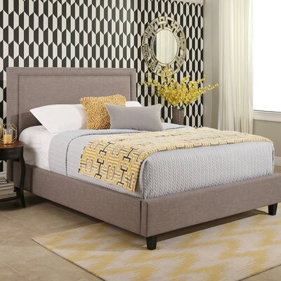 Otterville Upholstered Panel Bed Size: King