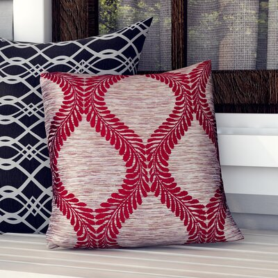 Bartow Indoor/Outdoor Throw Pillow Size: 18 H x 18 W x 0.5 D