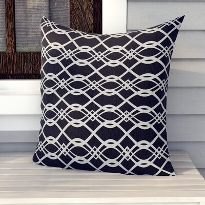 Valier Outdoor Floor Pillow Color: Black