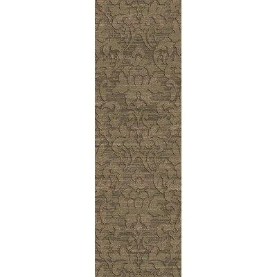 Limewood Tan Rug Rug Size: Runner 26 x 8