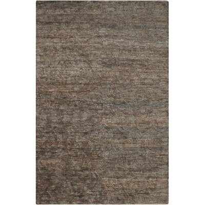 Limewood Charcoal Rug Rug Size: Rectangle 8 x 11
