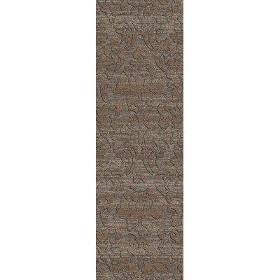 Limewood Charcoal Rug Rug Size: Runner 26 x 8