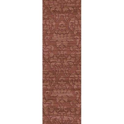 Limewood Burgundy Rug Rug Size: Runner 26 x 8