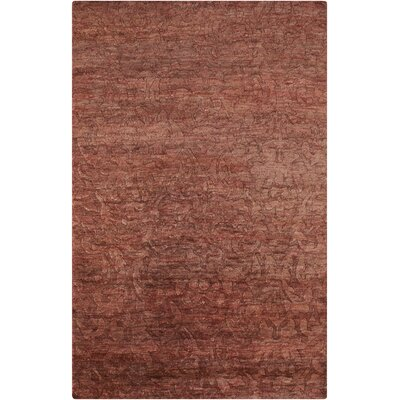 Limewood Burgundy Rug Rug Size: Rectangle 2 x 3