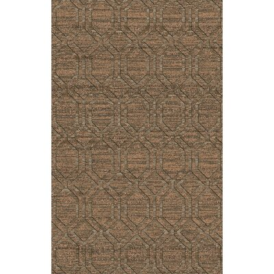 Limewood Ivory/Chocolate Area Rug Rug Size: Rectangle 33 x 53
