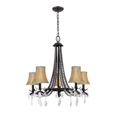 Molly 5-Light Shaded Chandelier