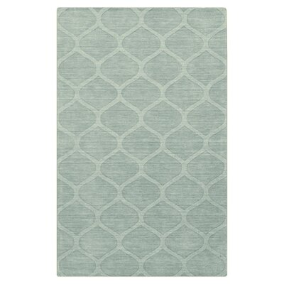 Revere Hand Woven Wool Moss Area Rug Rug Size: Rectangle 5 x 8