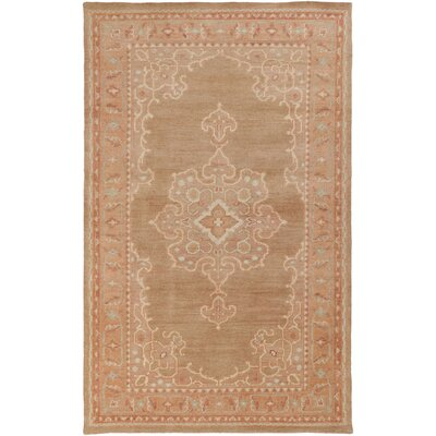 Orrville Mocha Oriental Area Rug Rug Size: Rectangle 56 x 86