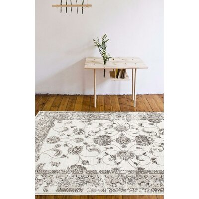 Lee Cream Indoor/Outdoor Area Rug Rug Size: 710 x 106