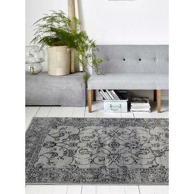 Lee Gray Indoor/Outdoor Area Rug Rug Size: 710 x 106