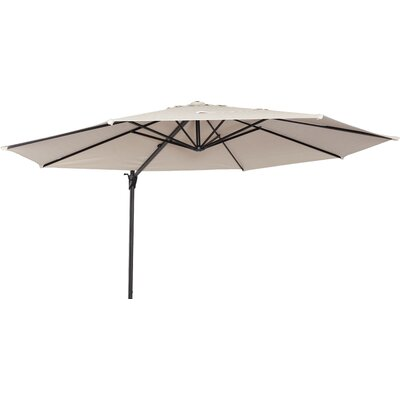 Maryann 12 Cantilever Umbrella Fabric: Smoke