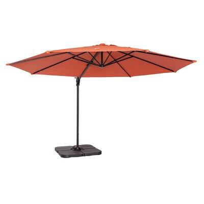 Maryann 12 Cantilever Umbrella Fabric: Terracotta