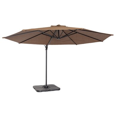 Maryann 12 Cantilever Umbrella Fabric: Mocha