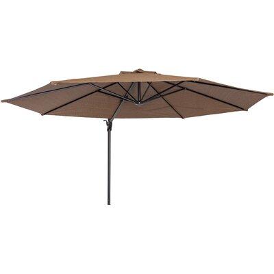 Maryann 12 Cantilever Umbrella Fabric: Mocha