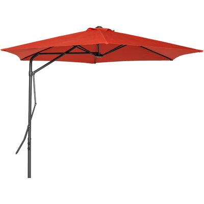 10 Kristine  Umbrella Color: Terracotta