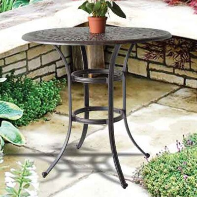 Kristy Bar Table Table Size: 60 L x 60 W