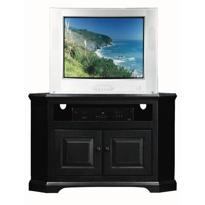Verna 41 TV Stand Door Type: Wood, Color: Smoky Blue