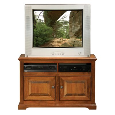 Verna 41 TV Stand Door Type: Wood, Color: Havana Gold