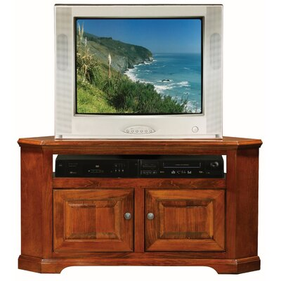 Verna 50 TV Stand Door Type: Wood, Color: Havana Gold