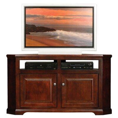 Verna 57 TV Stand Door Type: Wood, Color: Caribbean Rum