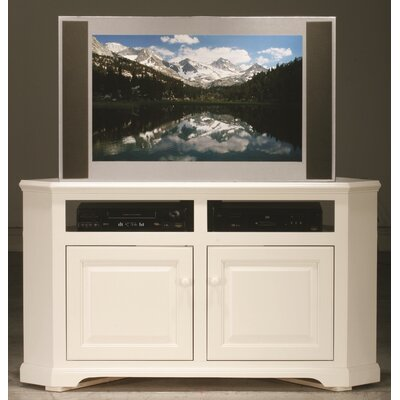 Verna 57 TV Stand Door Type: Wood, Color: European Ivory