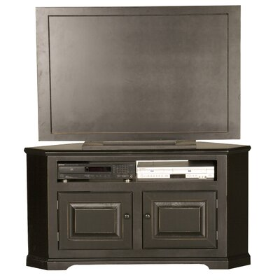 Verna TV Stand Finish: Havana Gold, Door Type: Wood