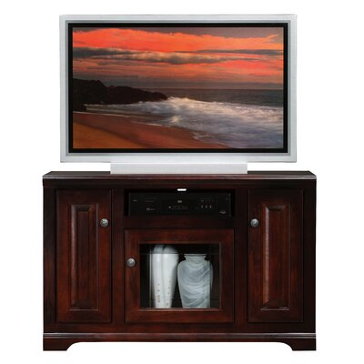 Verna 45.5 TV Stand Door Type: Glass, Color: Chocolate Mousse