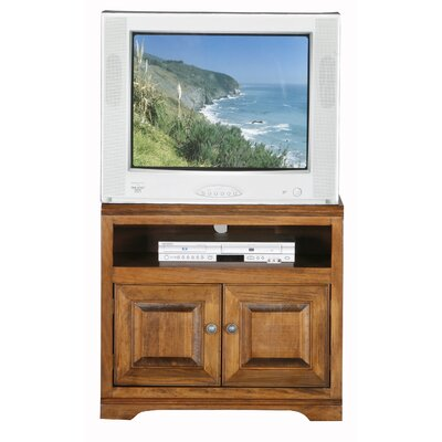Verna 39 TV Stand Width of TV Stand: 27 H x 30 W x 17 D, Color: European Coffee