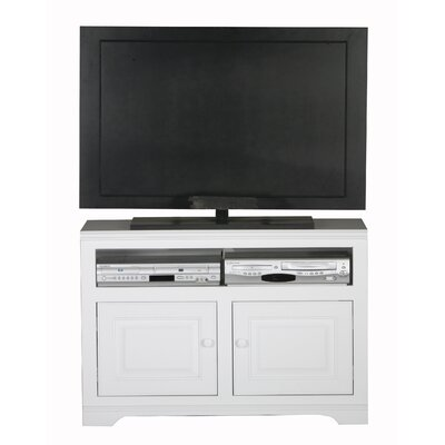 Verna 39 TV Stand Color: White, Width of TV Stand: 27 H x 39 W x 17 D