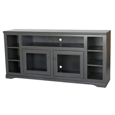 Verna 66 TV Stand Color: Antique Black