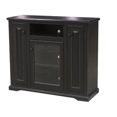 Verna 47 TV Stand Color: Antique Black