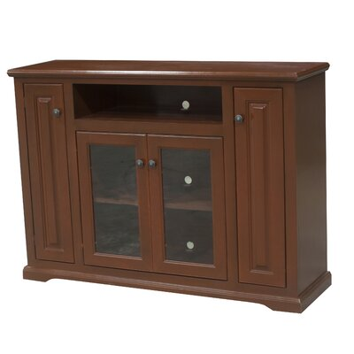 Verna 57 TV Stand Color: Persimmon Red