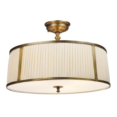 Bethany 3-Light Semi Flush Mount