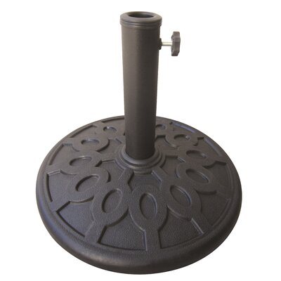 Nadine Resin Free-Standing Umbrella Base Weight: 17.6 lb
