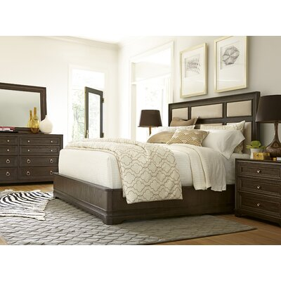 Fredric Upholstered Panel Bed Size: King, Color: Hollywood Hills