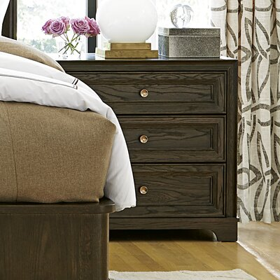 Fredric 3 Drawer Nightstand Color: Hollywood Hills