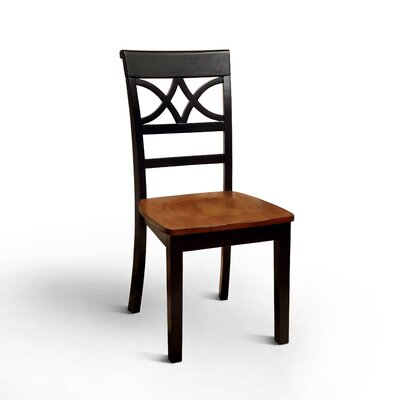 Paulette Side Chair Finish: Black