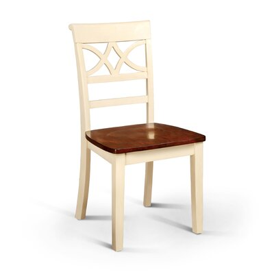 Paulette Side Chair Finish: Cream White