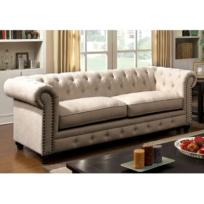 Darby Home Co DBYH8201 Lindstrom 90″  Chesterfield Sofa Upholstery