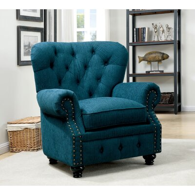 Lindstrom Arm Chair Finish: Teal